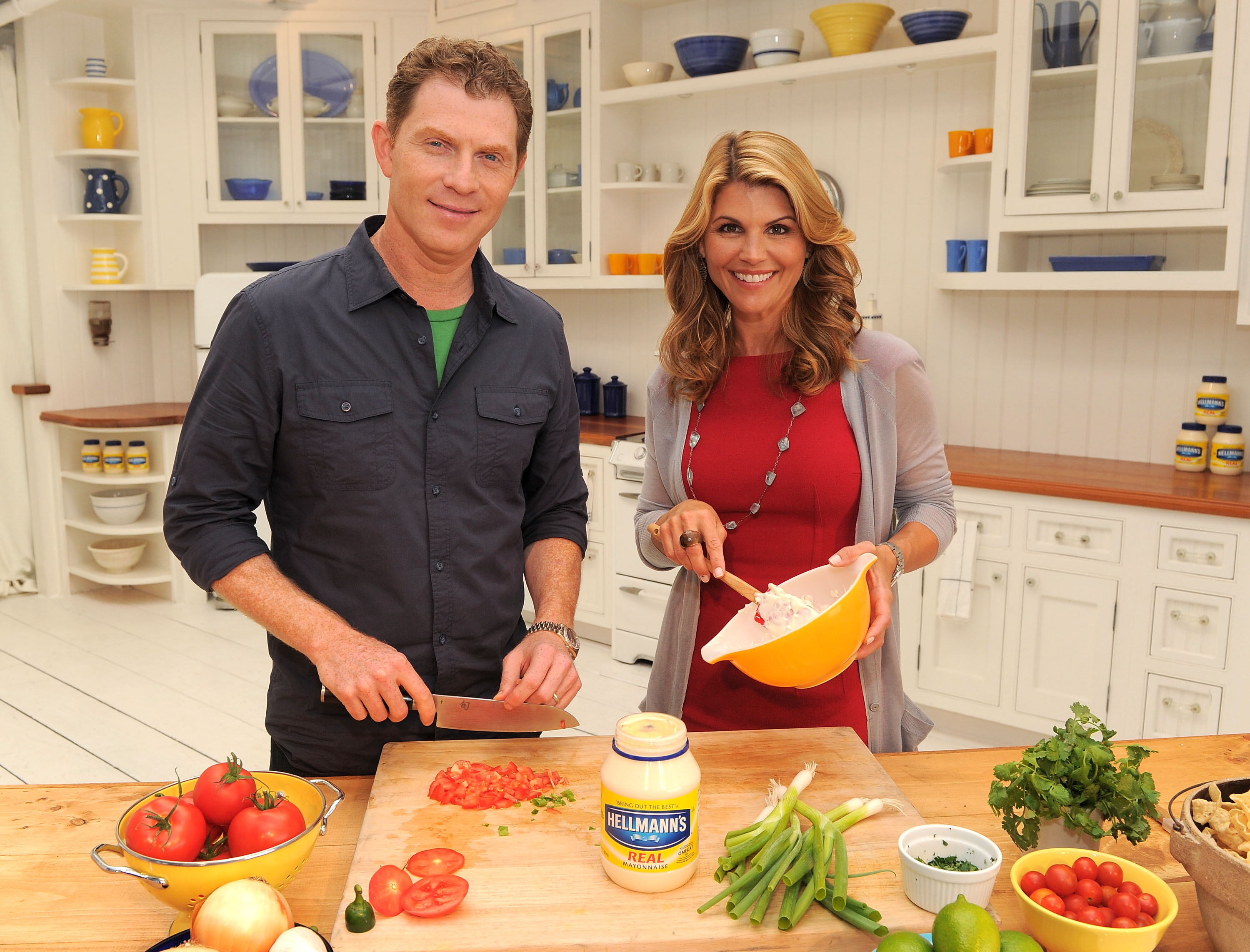 Me bobby flay and marcella valladolid eat and get drunk well m4hsunfo