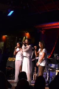 Indina Menzel, Daphne Rubin  Vega, and Adrienne Warren