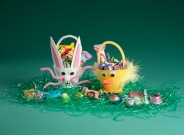 easter critter cups
